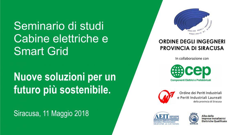 Seminario di studi a Siracusa su Cabine elettriche e Smart Grid